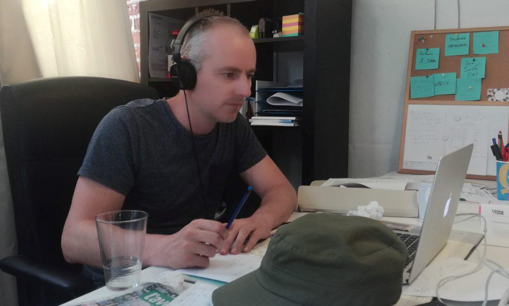 """Patrick Séverin: """"L'envie d'être utile m'a poussé à faire du journalisme autrement"""""""