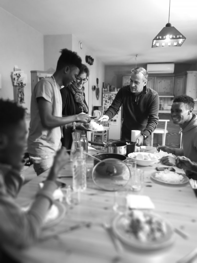 Une journée dans une famille d'accueil pour des mineurs demandeurs d'asile