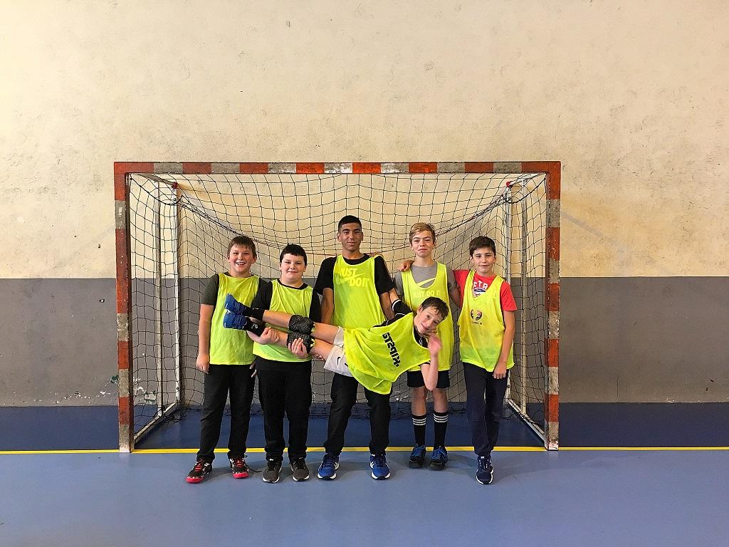 Une semaine de stage Handball pour les jeunes licenciés du club de Tarare