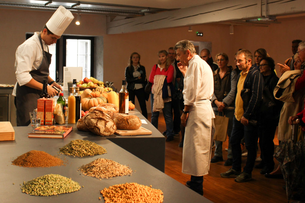 Inauguration de la Cité Internationale de la Gastronomie de Lyon