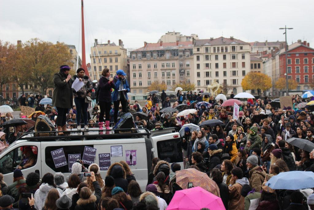 Manifestation contre les violences sexistes et sexuelles à Lyon, le 23 novembre 2019. (Photos)