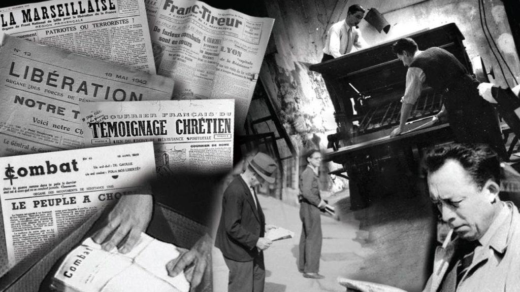 Les Journaux clandestins de la Résistance en France