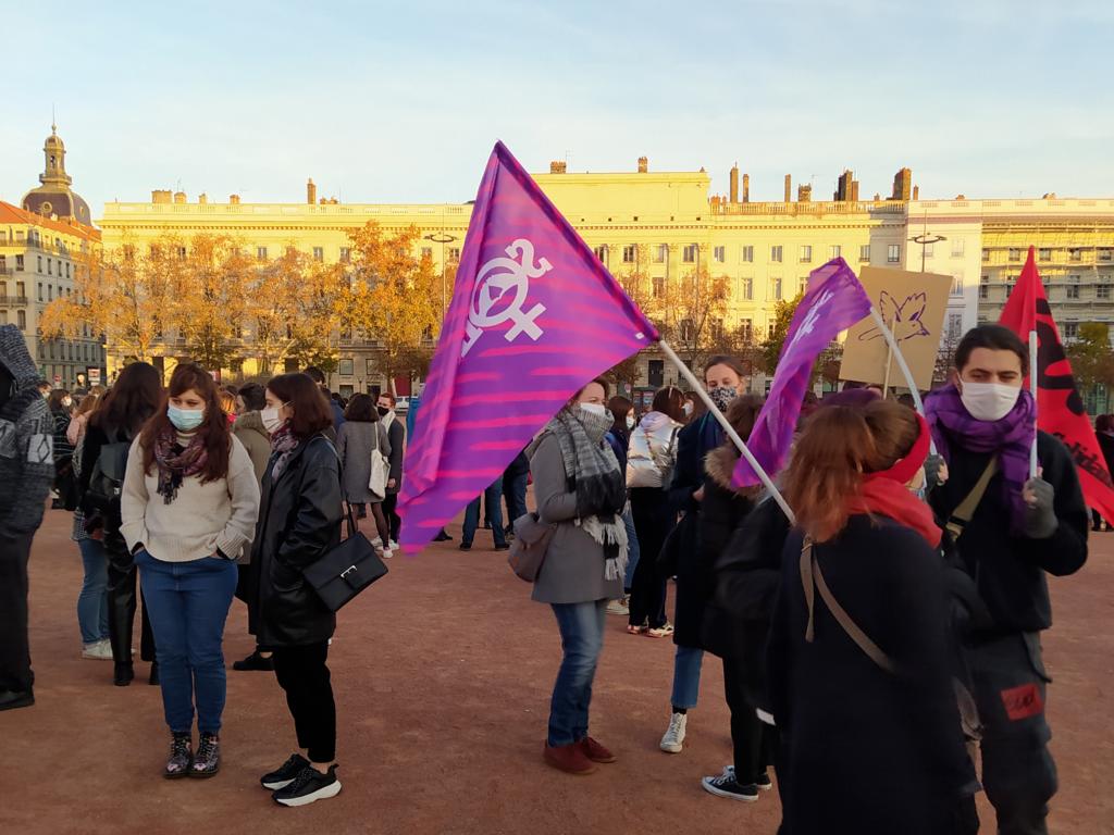 Les Lyonnaises « pas prêtes de se taire » face aux violences faites aux femmes